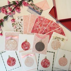 Handcrafted Christmas Card Deluxe Ornament Set